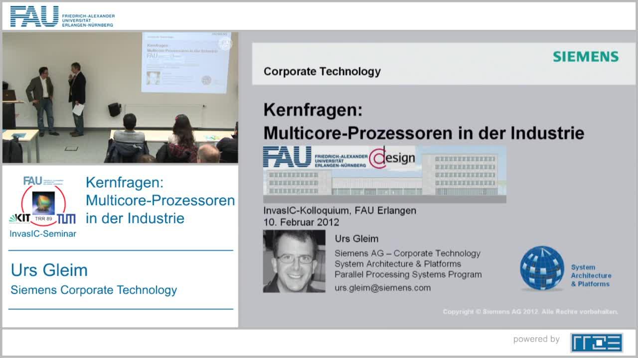 Kernfragen: Multicore-Prozessoren in der Industrie preview image