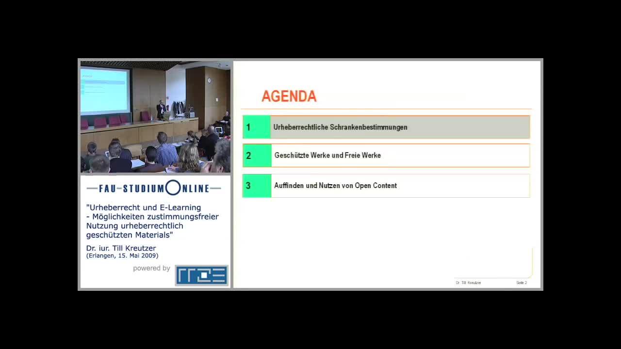 Urheberrecht und E-Learning - Möglichkeiten zustimmungsfreier Nutzung urheberrechtlich geschützten Materials preview image