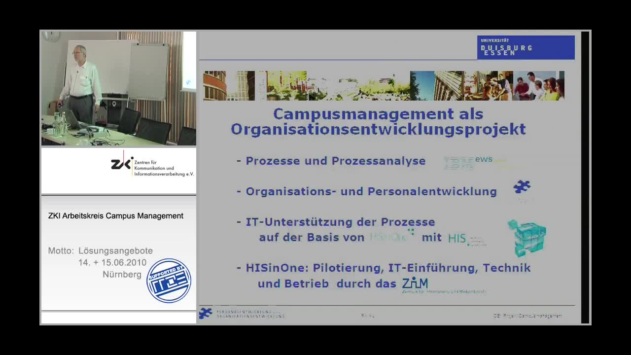 Campusmanagement als Organisationsentwicklungsprojekt an der UDE preview image