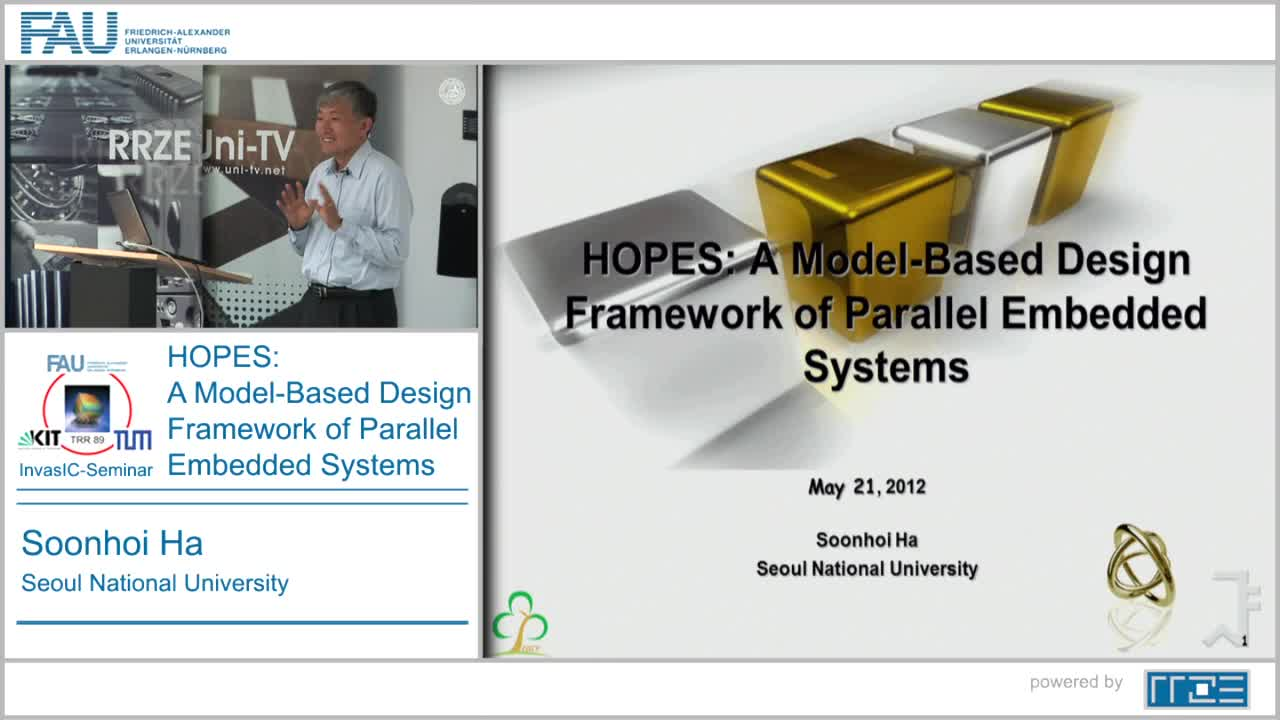 HOPES: A Model-Based Design Framework of Parallel Embedded Systems preview image