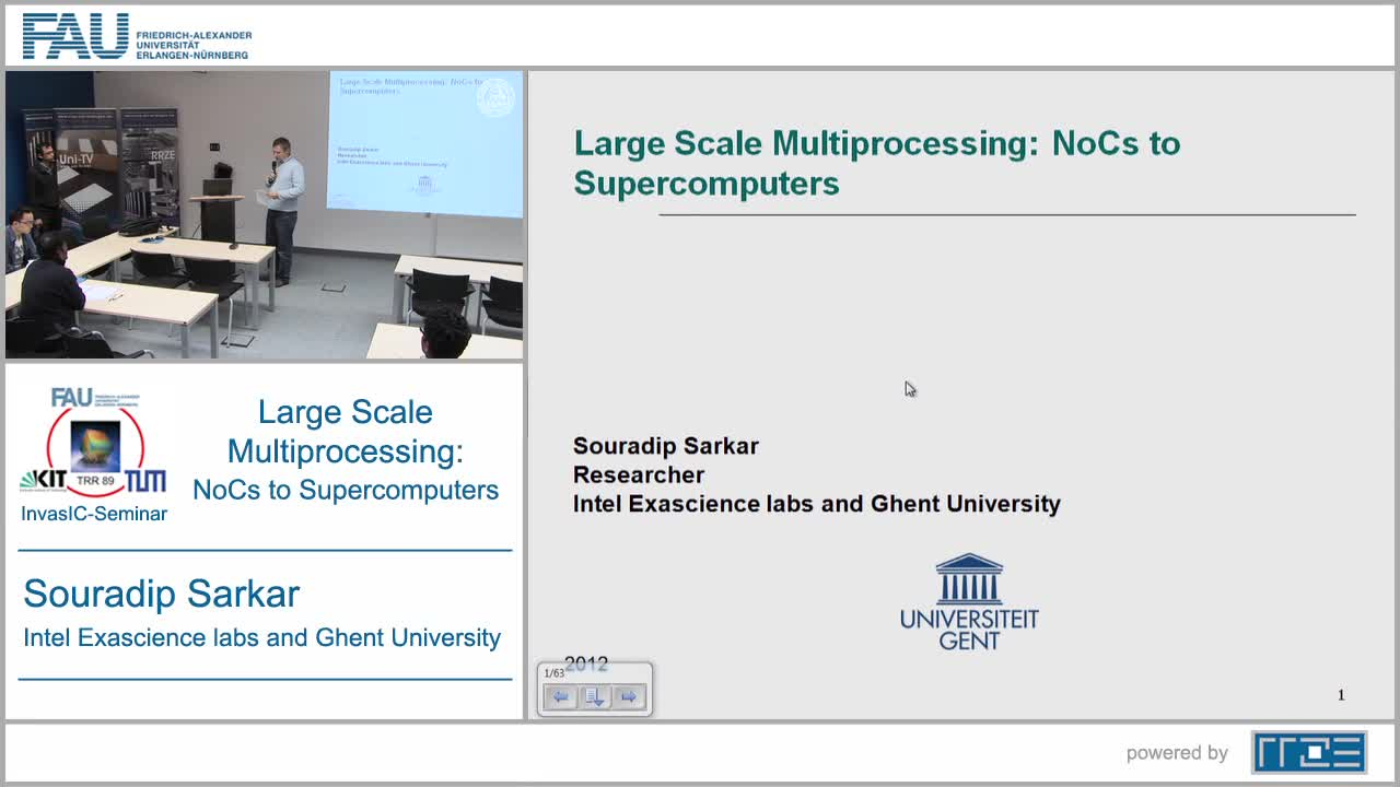 Large Scale Multiprocessing: NoCs to Supercomputers preview image
