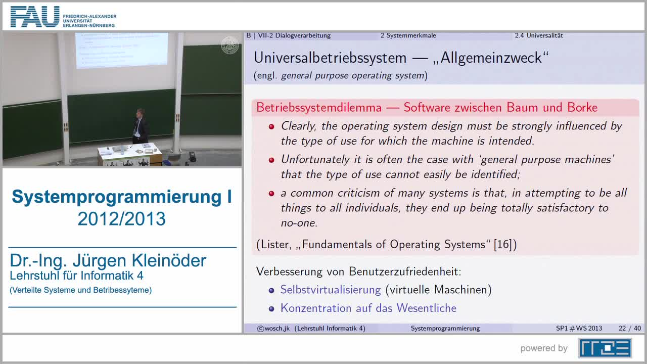 Systemprogrammierung 1 (SP1) preview image