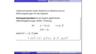 Diskretisierungs- und Optimierungsmethoden preview image